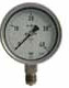 Stainless Steel unfilled Pressure Gauge bottom mounted