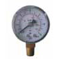 unfilled Pressure gauge bottom mounted