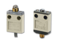 Compact limit switch in metal housing