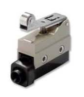 Limit switch in compact metal housing with terminal block