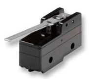 Limit switch with basic plastic housing